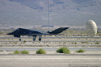 86-0837 @ KLVS - F-117A Nighthawk 86-0837 HO from 8th FS Black Sheep 49th FW Holloman AFB, NM - by Dariusz Jezewski www.FotoDj.com