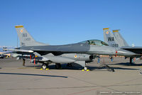88-0499 @ KLVS - F-16CG Fighting Falcon 88-0499 WA from 16th WS 57th WG Nellis AFB, NV