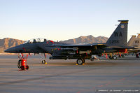 90-0256 @ KLVS - F-15E Strike Eagle 90-0256 WA from 17th WS Hooters 57th WG Nellis AFB, NV