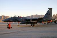90-0256 @ KLVS - F-15E Strike Eagle 90-0256 WA from 17th WS Hooters 57th WG Nellis AFB, NV