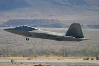 99-4011 @ KLVS - F-22 Raptor 99-4011 OT from 422nd TES Green Bats 53rd WG Nellis AFB, NV