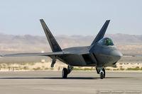 99-4011 @ KLVS - F-22 Raptor 99-4011 OT from 422nd TES Green Bats 53rd WG Nellis AFB, NV
