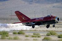 N117BR @ KLVS - PZL Mielec Lim-5 (MiG-17F)  C/N 1C1529, NX117BR - by Dariusz Jezewski www.FotoDj.com