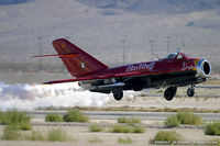 N117BR @ KLVS - PZL Mielec Lim-5 (MiG-17F)  C/N 1C1529, NX117BR