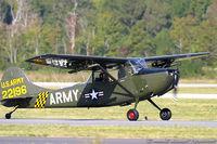 N5188G @ KNTU - Cessna 305A L-19A Bird Dog  C/N 22196, N5188G