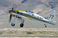 N777L @ KLVS - Grumman F8F-2 Bearcat  C/N 122629, N777L