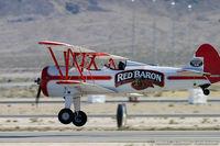 N801RB @ KLVS - Boeing A75N1(PT17) Stearman  C/N 75-4688, N801RB