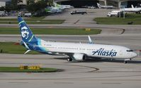 N267AK @ FLL - Alaska