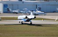 N279PH @ DAB - Gulfstream V