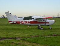 G-GLED @ EGTR - Cessna 150M at Elstree. Ex C-GLED - by moxy