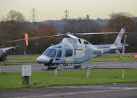 N119SX @ EGTR - Agusta A-119 at Elstree. - by moxy