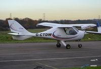 G-CTDW @ EGTR - Flight Design CTSW at Elstree. - by moxy