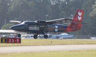 N301CL @ DED - DHC-6 Parachute drop aircraft