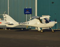 G-CEKT @ EGTB - Flight Design CTSW at Wycombe Air Park.
