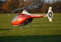 G-PERH @ EGTB - Guimbal Cabri G2 at Wycombe Air Park.