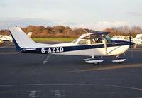G-AZXD @ EGTB - Reims Cessna F172L Skyhawk at Wycombe Air Park. - by moxy