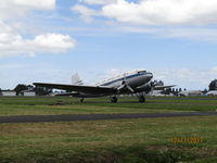 ZK-DAK @ NZAR - taxying back after landing - by magnaman