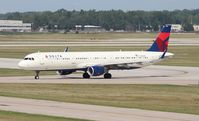 N306DN @ DTW - Delta - by Florida Metal
