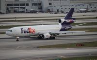N306FE @ MIA - Fed Ex MD-10-30F