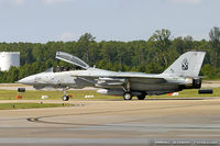 162925 @ KNTU - F-14B Tomcat 162925 AG-206 from VFA-11 Red Rippers  NAS Oceana, VA