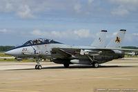 164347 @ KNTU - F-14D Tomcat 164347 AJ-213 from VF-213 Black Lions  NAS Oceana, VA