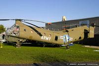 55-4140 @ KOQN - Piasecki H-21C Shawnee 55-4140  C/N C.94  - American Helicopter Museum