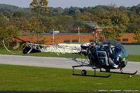 N555EN @ KOQN - Bell 47D1  C/N 6, N555EN