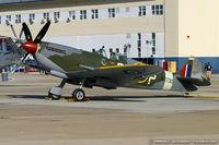 N730MJ @ KNTU - Supermarine Spitfire Mk IX  C/N CBAF 7243, N730MJ