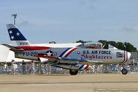 N86FR @ KNTU - North American F-86F Sabre  C/N 52-4959, NX86FR