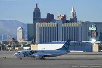 N307FL @ KLAS - Boeing 737-36Q - Frontier Airlines  C/N 28760, N307FL