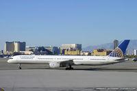 N57852 @ KLAS - Boeing 757-324 - Continental Airlines  C/N 32811, N57852