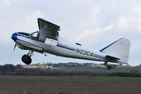 N123CA @ X3CX - Departing from Northrepps. - by Graham Reeve