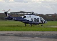 G-CMCL @ EGTF - Agusta Westland AW-169 at Fairoaks.