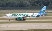 N311FR @ DTW - Frontier A320NEO