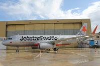LZ-CMB @ LMML - A320 LZ-CMC Jetstar Pacific - by Raymond Zammit