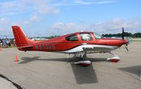 N313VB @ PTK - This Cirrus was only a week old at the time