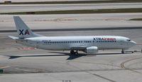 N313XA @ MIA - Xtra 737-400