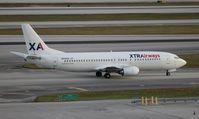 N313XA @ MIA - Xtra Airways