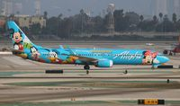 N318AS @ LAX - Alaska Disneyland