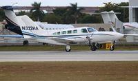 N322HA @ FLL - Cessna 402C