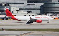 N334QT @ MIA - Avianca Cargo