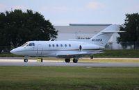 N355FA @ ORL - Hawker 800A