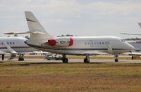 N376SF @ DAB - Falcon 2000EX