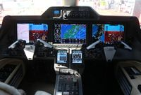 N394QS @ ORL - Net Jets