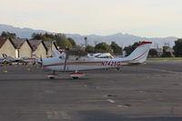 N7425G @ SZP - 1970 Cessna 172K, Lycoming O-320-E2D 150 Hp - by Doug Robertson
