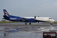 G-CFLU @ EGSH - Departing from Norwich.
