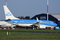 PH-BGD @ EGSH - Parked at Norwich.