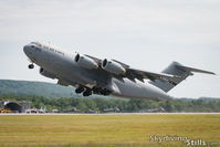 94-0067 @ KBAF - Takeoff at the Westfield International Airshow, Westfield, MA - by Dave G