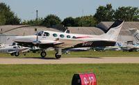 N411V @ OSH - Cessna 340