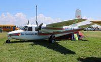 N411VV @ OSH - Aero Commander 520